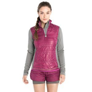 Lole Action Performance 1/4 Zip Quilted Pullover
